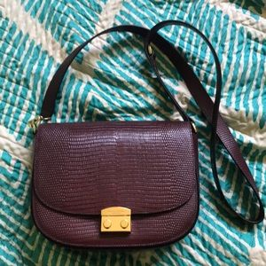 NWOT Henri Bendel Crossbody used once. Like new!